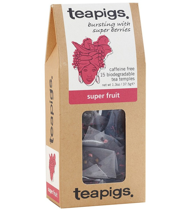 Super fruit thebreve fra Teapigs