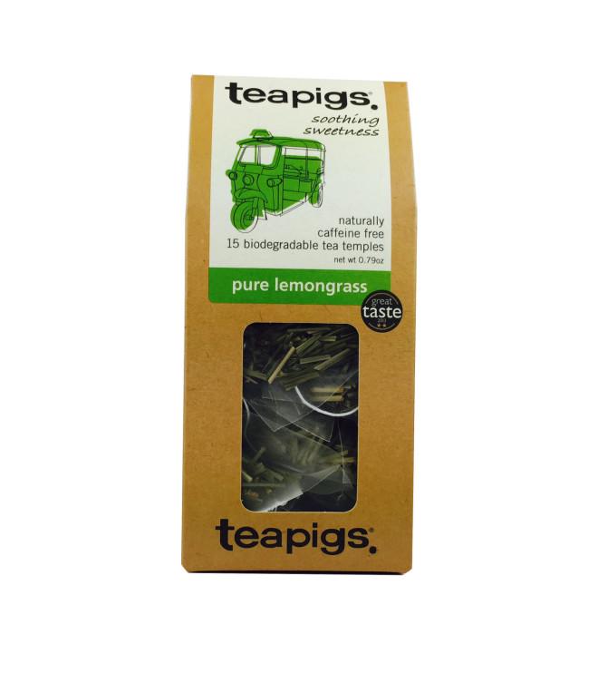 Pure lemongrass thebreve fra Teapigs
