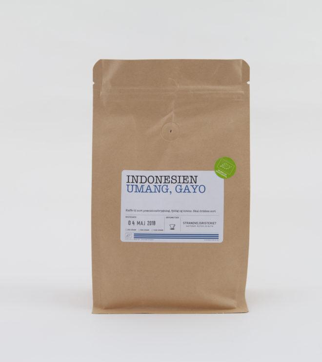 Kaffe fra umang gaoy økologisk indonesien