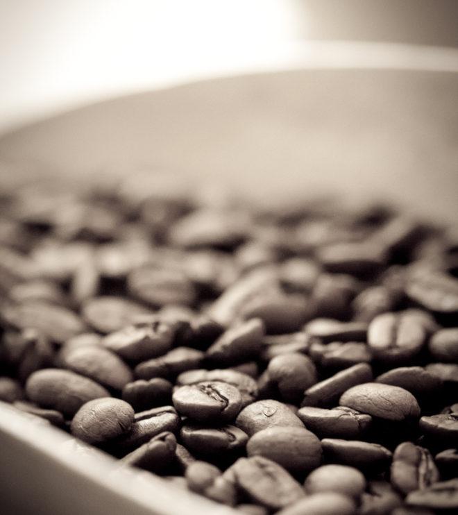 Ristede kaffebønner
