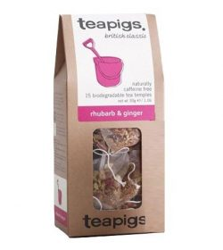Teapigs Rhubarb and ginger thebreve
