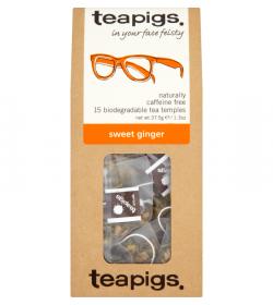 Sweet ginger thebreve fra Teapigs