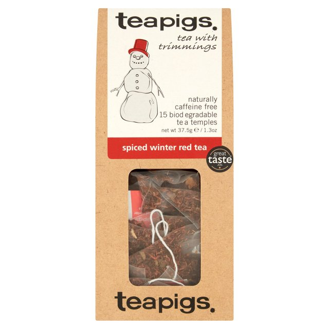 Spiced winter red thebreve fra Teapigs