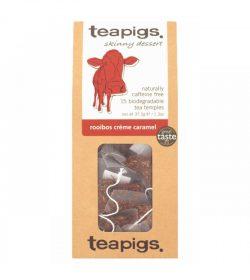 Rooibos crème caramel thebreve fra Teapigs.