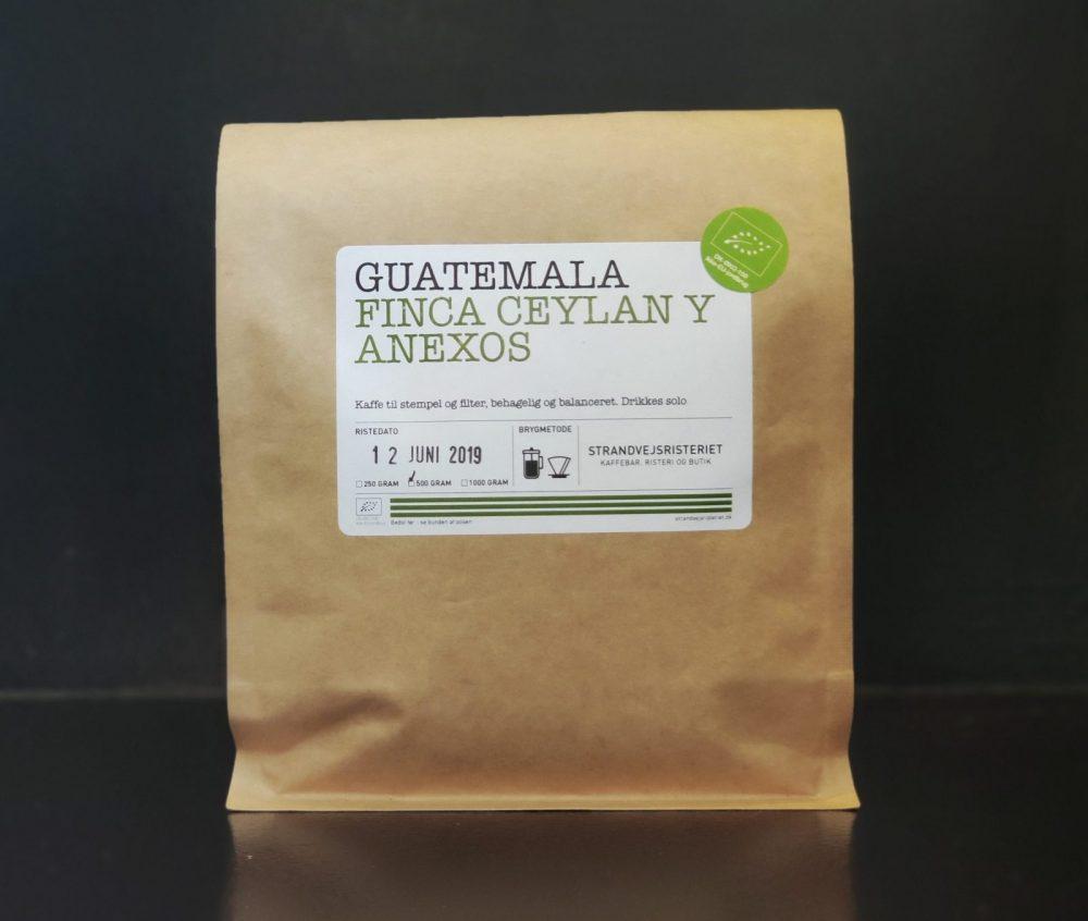Køb Guatemala Finca Ceylan Yanexos her