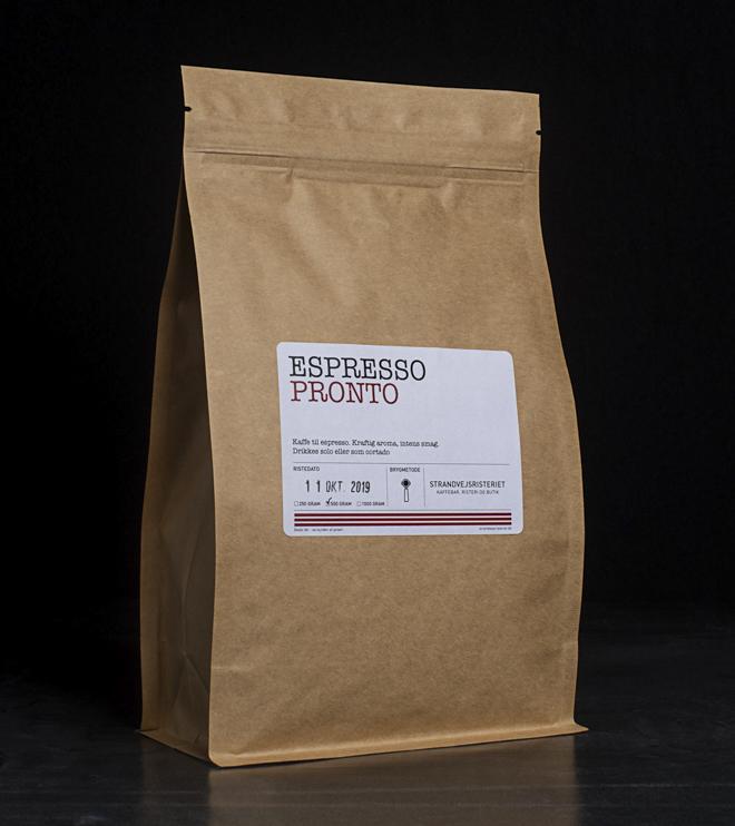 Køb vores espressoblend pronto her