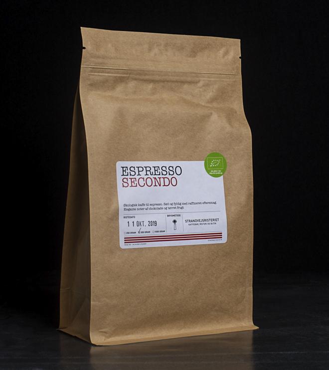 Køb vores espresso secondo her